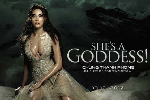 Minh Tú hóa nữ thần trong show mới của Chung Thanh Phong