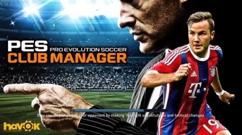 Mời tải PES Club Manager - Game quản lý bóng đá đỉnh cao