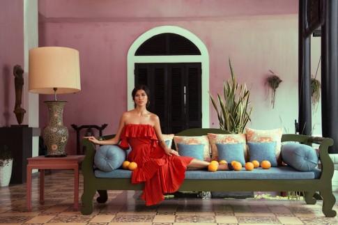Người mẫu Trang đẹp lạ lùng trong loạt ảnh với phong cách Havana