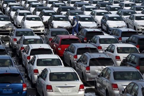 Nhật ngày càng giảm xuất khẩu xe hơi