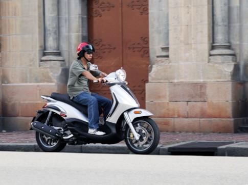Piaggio BV 500 - scooter phân khối lớn