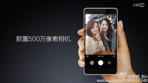 """Shock : Mi 4c sẽ """"ăn đứt"""" iPhone 6 về camera tự sướng"""