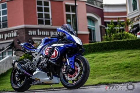 Siêu phẩm Yamaha R1 2015 độ theo phong cách WorldSBK