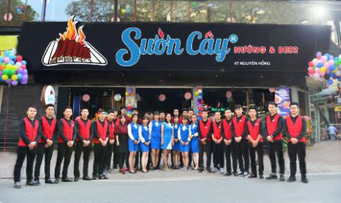 Sườn Cây ra mắt chi nhánh thứ 2 tại Hà Nội