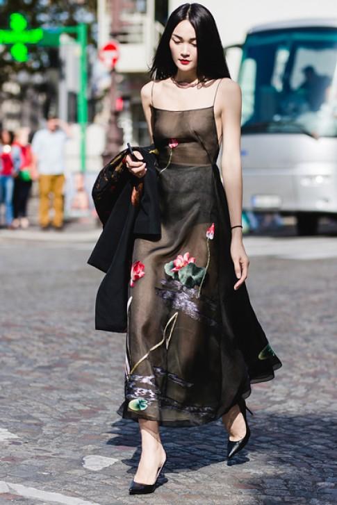 Thùy Trang làm mẫu cho Louis Vuitton