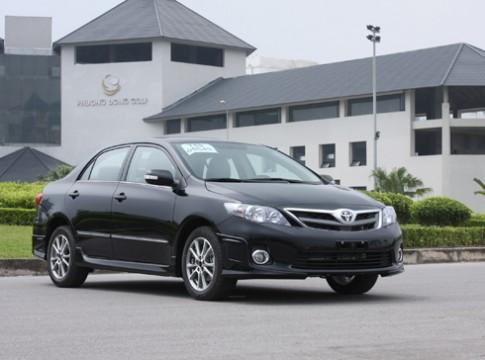 Toyota Altis - những lý do bán chạy ở Việt Nam