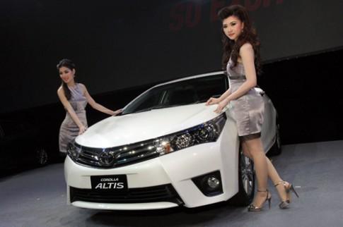 Toyota Altis thế hệ mới giá từ 23.400 USD tại Thái Lan