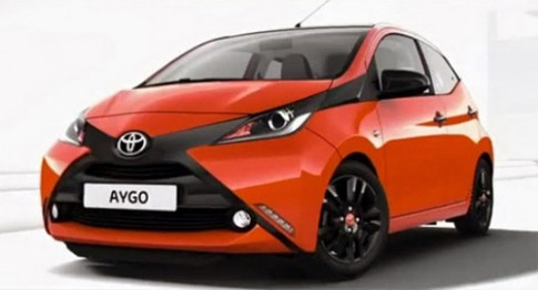 Toyota Aygo lộ diện trước khi tới Geneva