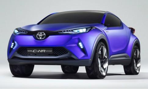 Toyota C-HR concept - SUV cỡ nhỏ mới lộ diện