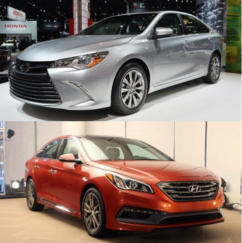 Toyota Camry và Hyundai Sonata - cuộc chiến Nhật-Hàn