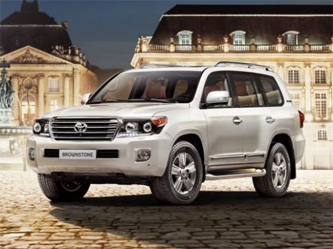 Toyota Land Cruiser phiên bản đá nâu dành riêng cho Nga