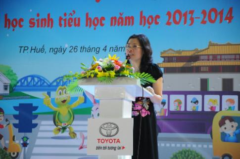 Toyota Việt Nam cùng học sinh tìm hiểu an toàn giao thông