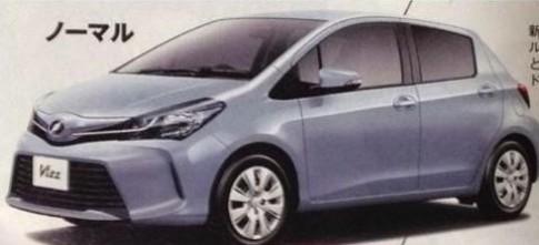 Toyota Yaris bản nâng cấp lộ diện