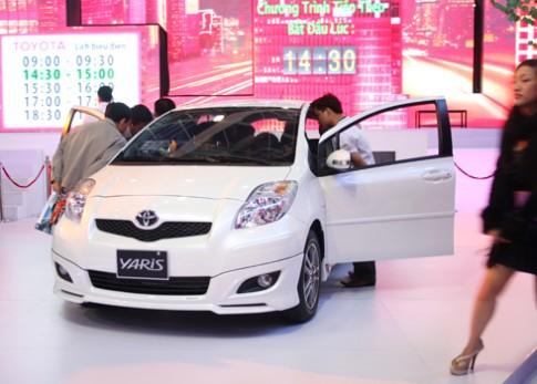 Toyota Yaris se duoc phan phoi trong quy 1