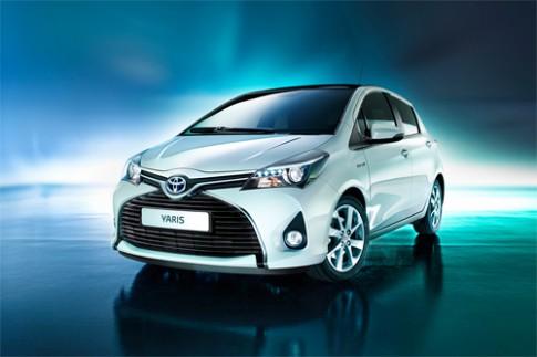 Toyota Yaris thay đổi hầm hố