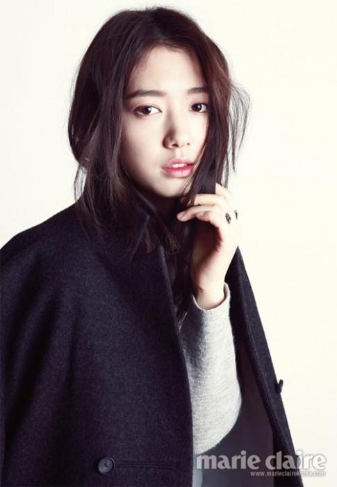 Trang điểm trong suốt như Park Shin Hye