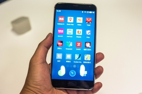 Trên tay Meizu Pro 5 vừa mới ra mắt