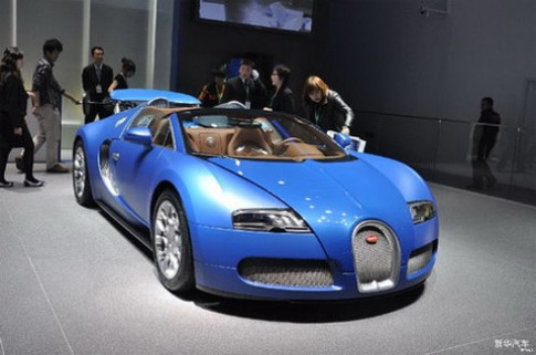 Trung Quốc mua hết siêu xe ở triển lãm Bắc Kinh