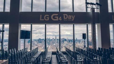 Tường thuật trực tiếp sự kiện ra mắt LG G4 vào 10h tối nay, mời anh em theo dõi