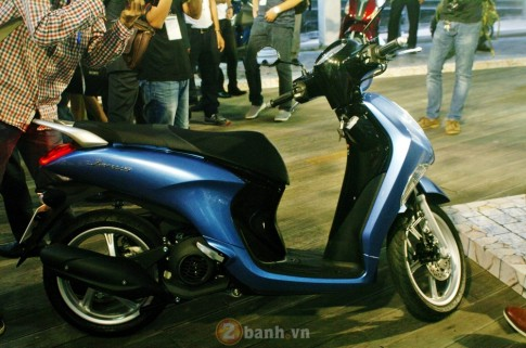 Xe tay ga Janus cua Yamaha duoc de xuat gia tu 27,5 trieu dong