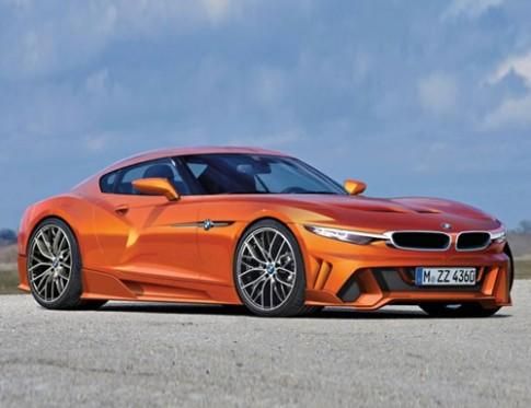 Xe thể thao hợp tác Toyota-BMW ra đời vào 2017