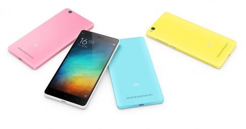 Xiaomi chính thức ra mắt Mi 4i giá $200, chip 8x, nhiều màu sắc