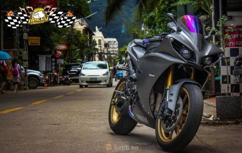 Yamaha R1 phiên bản cũ siêu ngầu trong bản độ cực chất đến từ Thái