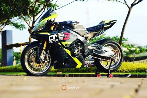 Yamaha R1M siêu chất trong phiên bản đường đua từ One3 Motoshop