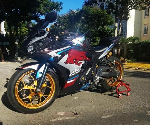Yamaha R3 đậm chất thể thao với phiên bản Redbull của biker Đà Nẵng