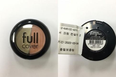 13 dòng mỹ phẩm danh tiếng Hàn Quốc bị đình chỉ do chứa chất gây ung thư vượt quá ngưỡng cho phép
