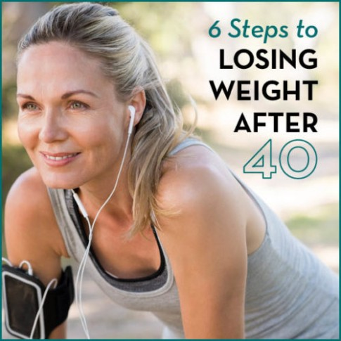 6 bước để giảm cân sau tuổi 40