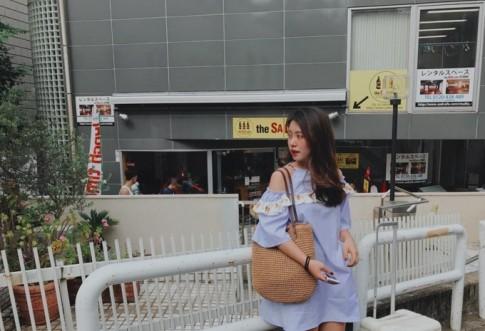 Đi du học, cứ mặc đồ theo cách của hot girl Mẫn Tiên là xinh ngay