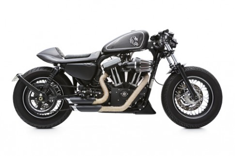 'Đỉnh cao' xế độ Harley Davidson 48 cafe racer
