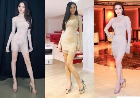 Đụng hàng cả showbiz nhưng tân hoa hậu Hương Giang vẫn nổi bật nhờ sắc vóc 'đỉnh của đỉnh'