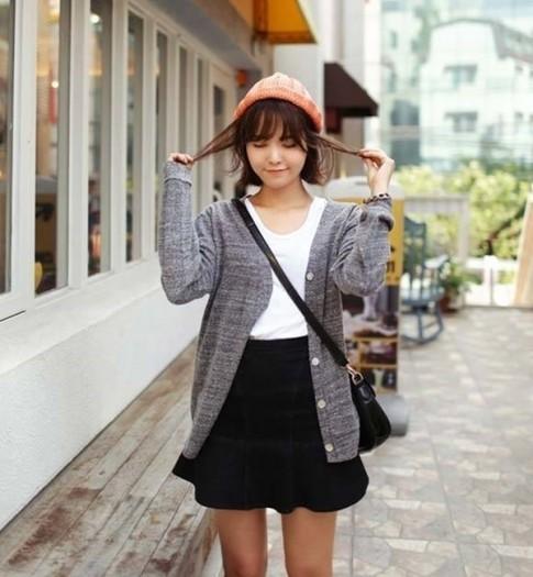 Gợi ý cách diện áo cardigan xinh như con gái Hàn Quốc nhìn thôi đã muốn yêu