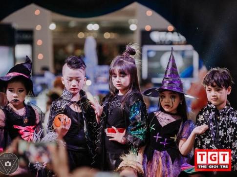 Halloween: Nhóc tỳ Hà Thành hóa thân Tiên Hắc Ám, Phù Thủy, Harry Potter cực yêu