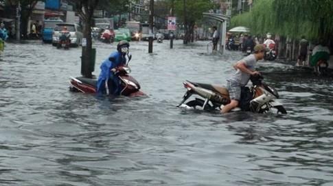 Hạn chế đi vào những vùng ngập nước dù có phải đi xa hơn bình thường