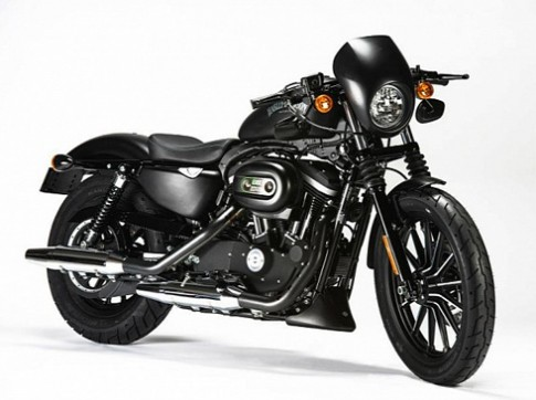 Harley Davidson bản đen tuyền đặc biệt