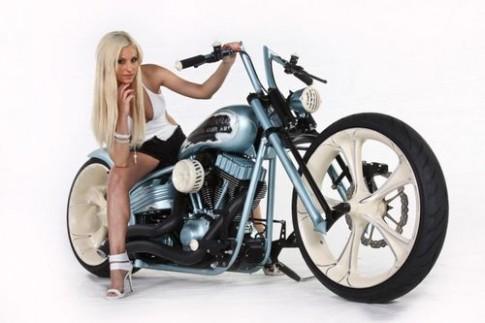Harley Davidson độ hầm hố và thanh lịch