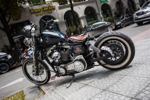 Harley-Davidson độ kịch độc với phong cách Ma Tốc Độ tại Sài Gòn
