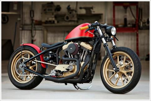 Harley Davidson độ phong cách Hollywood