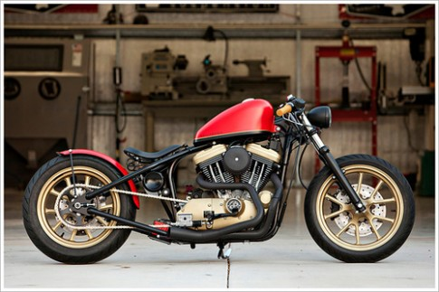 Harley Davidson Sportster Hollywood