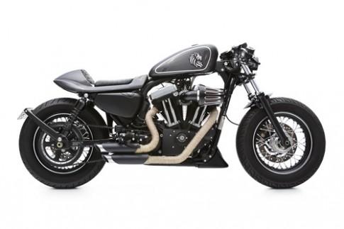 Hình ảnh xế độ Harley Davidson 48 cafe racer