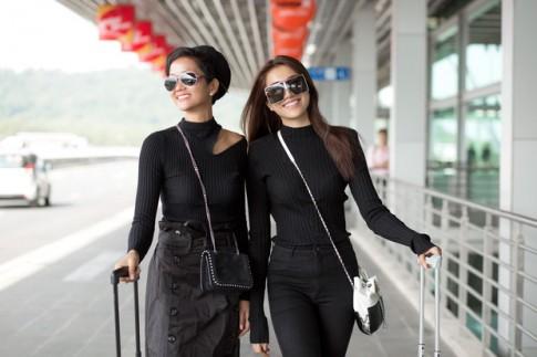 Hoa hậu H'Hen Niê mất điểm ngay từ street style đầu tiên vì trang phục nhăn nhúm