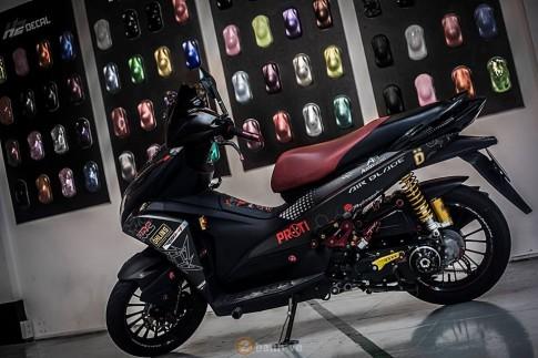 Honda AirBlade chất chơi với bộ cánh mới cùng dàn đồ chơi hạng nặng
