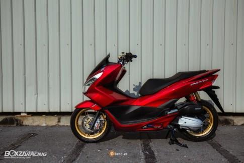 Honda PCX 150 đầy ấn tượng với phiên bản Red Dragon