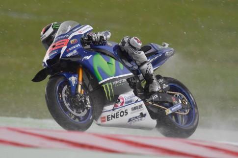 Jorge Lorenzo và Dani Pedrosa đã có một phiên đua Q2 thất bại toàn diện