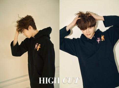 Kang Daniel, Lee Jong Suk cùng Park Bo Gum chiếm sóng tạp chí thời trang tháng 1