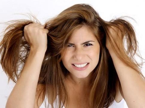 Khắc phục mái tóc bị chẻ ngọn