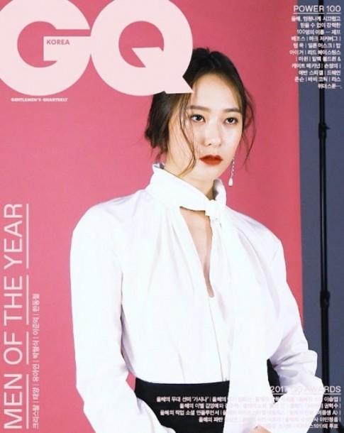Krystal khoe nhan sắc đỉnh cao trên tạp chí, Suzy đẹp 'xuất thần' sau khi chia tay với Lee Min Ho